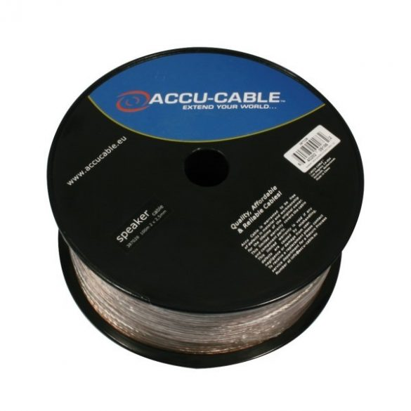 AC-SC2-2,5/100R-T Speaker cable 2x2,5mm