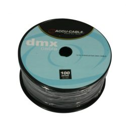 AC-DMX3/100R DMX cable on Roll 3 pin