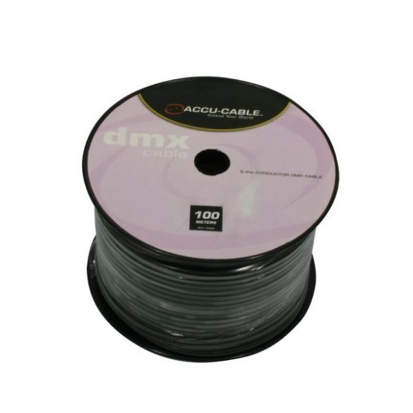 AC-DMX5/100R DMX cable on Roll 5 pin 100m