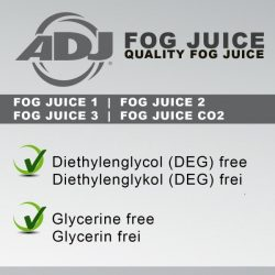 ADJ Fog juice light füstfolyadék --- 20 Liter