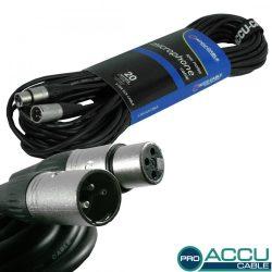 AC-PRO-XMXF/20 XLR m/f 20m - professzionális mikrofon kábel
