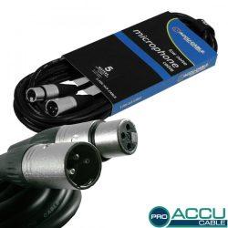 AC-PRO-XMXF/5 XLR m/f 5m - professzionális mikrofon kábel
