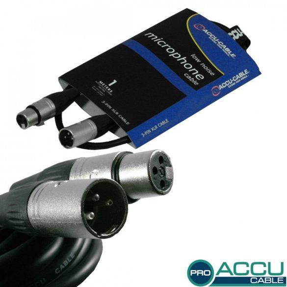 AC-PRO-XMXF/1 XLR m/f 1m - professzionális mikrofon kábel