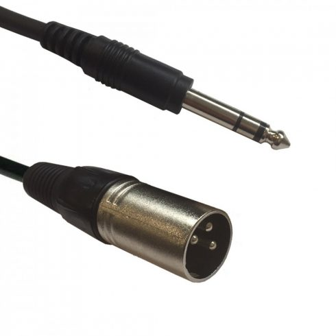 AC-XM-J6S/1,5 XLR male 6,3 Jack Stereo