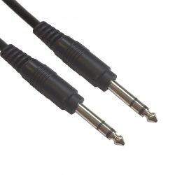 AC-J6S/5 Jack-cable 6,3mm stereo 5m