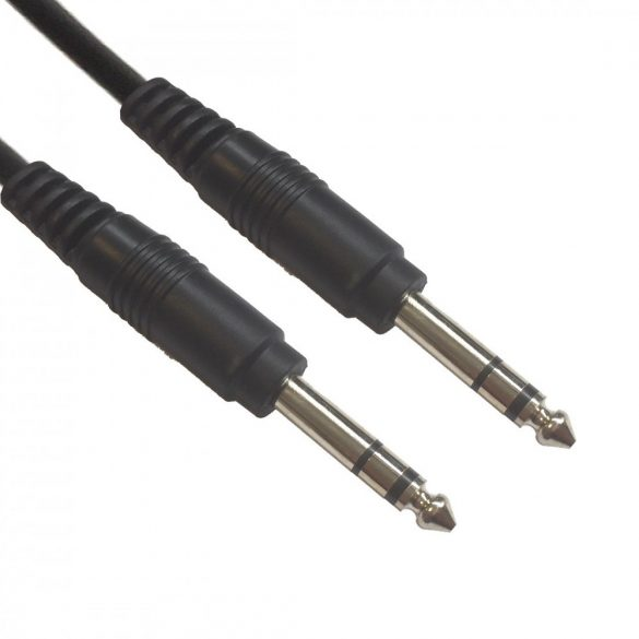 AC-J6S/1,5 Jack-cable 6,3mm stereo 1,5m