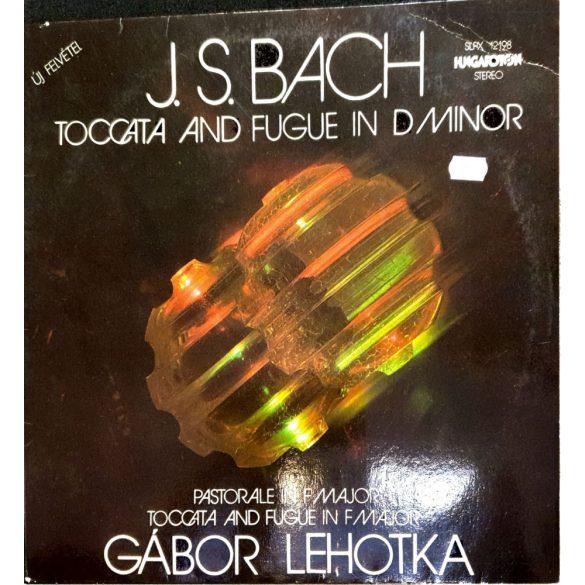 Gábor Lehotka - J.S. Bach Toccata and Fugue in D minor