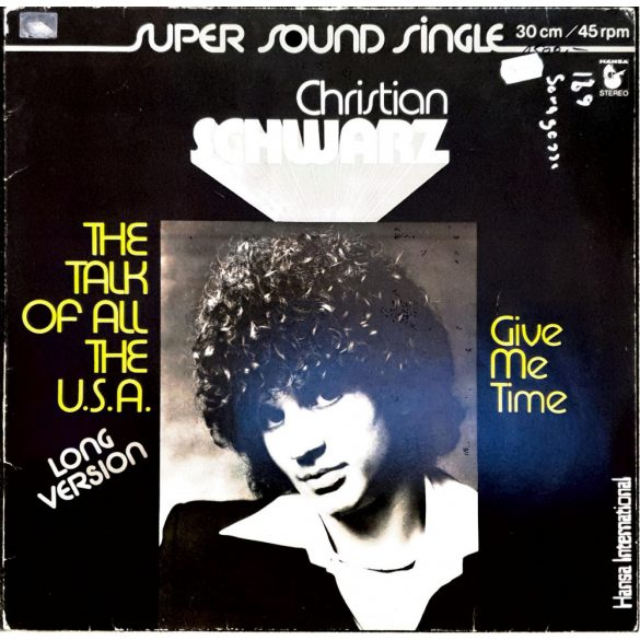 Christian Schwarz - Super sound single