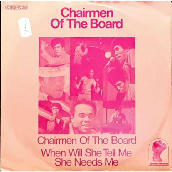 Chairmen of te board - When will she tell me she needs me