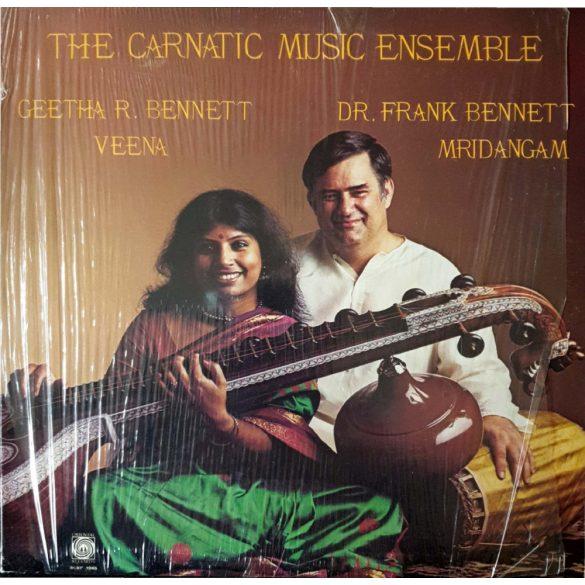 Geetha R. Benett Veena, Dr. Frank Bennett Mridangam - The Carnatic Music Ensemble